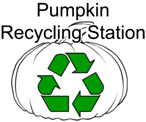 Pumpkin recycling station 2-top only